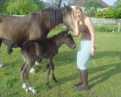 Horse Riding Instructor/Escort: Kelly B (Volunteer)