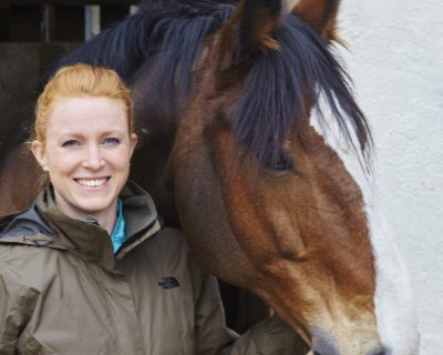 Horse Riding Instructor/Escort: Harriet (Volunteer)